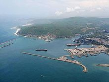 Vizag Seaport aerial view.jpg