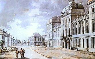 Kazimierz Palace - Corps of Cadets, 1785