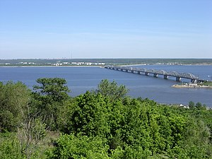 Volga River - The Volga at Ulyanovsk