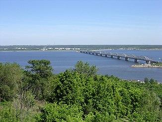 Die Wolga in Uljanowsk