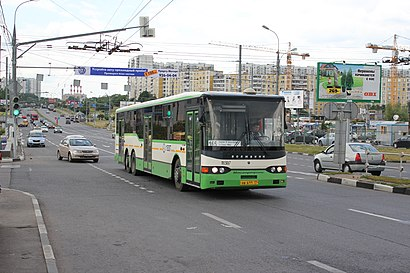 How to get to Новоясеневский Проспект with public transit - About the place