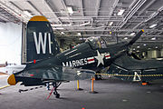Vought F4U-4 Corsair US Marines 96885 VMF-225 (7170812736).jpg