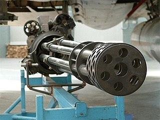 M61 Vulcan 20 mm gatling type rotary cannon