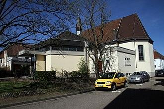 Wörth am Rhein - Image: Wörth Büchelberg St Laurentius 04 gje