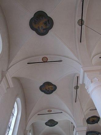 Włodawa Synagogue - Bird and animal rosettes