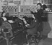 Teletype machines in World War II
