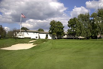 Westchester Country Club - View towards sportshouse
