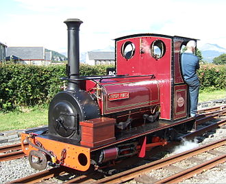 Hunslet Engine Company - Irish Mail is typical of many small engines built at Hunslet for use in quarries