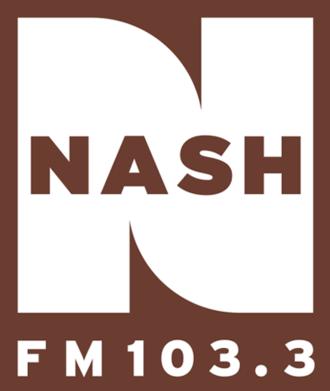 WKDF - Image: WKDF (Nash FM 103.3) logo