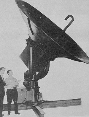 WSR-57 - WSR-57 radar antenna from NOAA