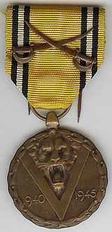 Image illustrative de l'article Médaille commémorative de la guerre 1940-1945