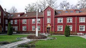 Nasjonalt pilegrimssenter har tilhold i Wisenhuset, like ved Nidarosdomen. Foto: Wikipedia