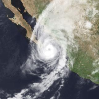 Hurricane Waldo Category 2 Pacific hurricane in 1985