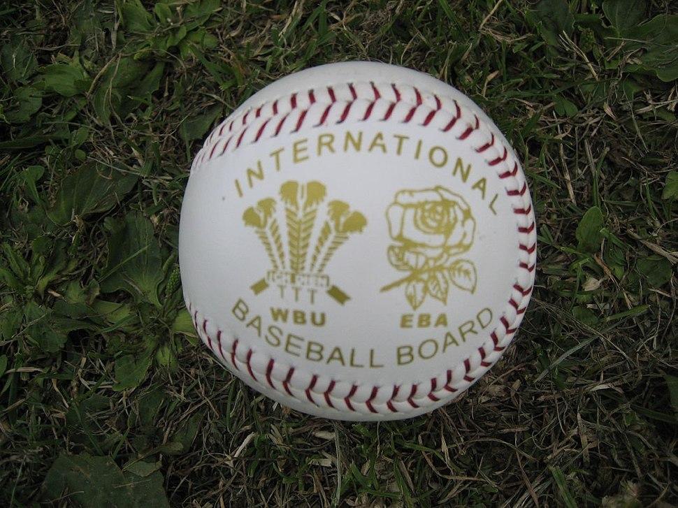 Wales Vs England Baseball International ball