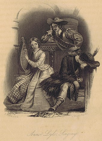 A Legend of Montrose, illustration from the 1872 edition Walter Scott Legend of Montrose Illustration.jpg