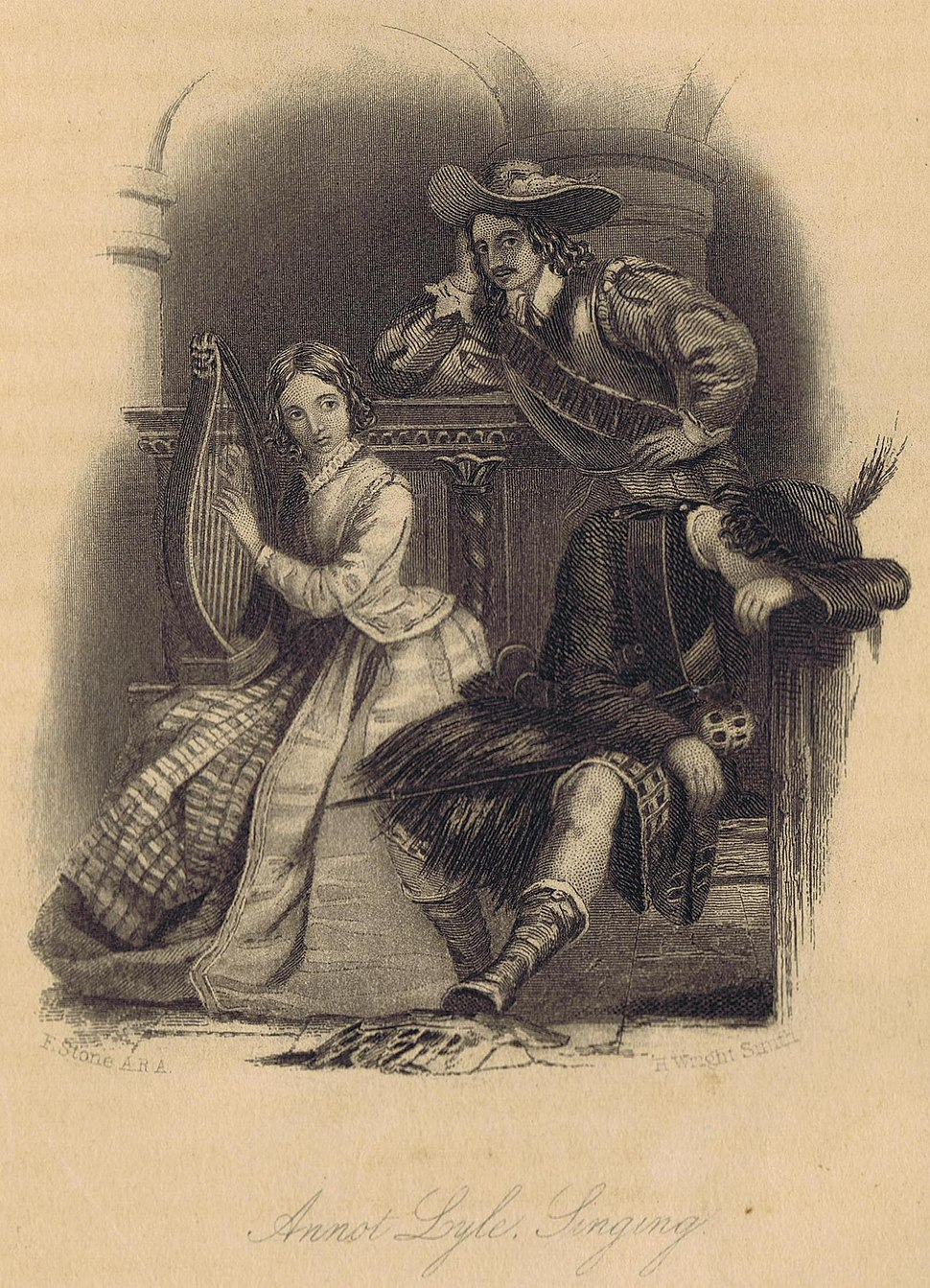 Walter Scott Legend of Montrose Illustration