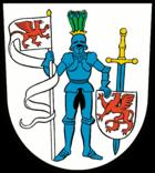 Das Wappen von Gartz (Oder)