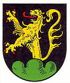 Coat of arms of the local community Ilbesheim near Landau in the Palatinate