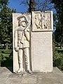 War Memorial in Nowy Korczyn, Poland, 2019.jpg