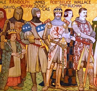 James Douglas, Lord of Douglas - Image: War of Independence figures by Wm Hole