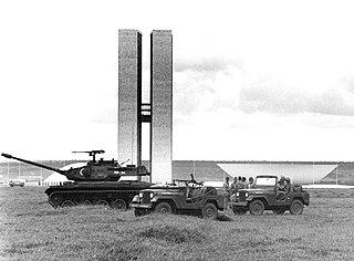 1964 Brazilian coup détat March–April 1964 coup détat in Brazil that ousted President João Goulart