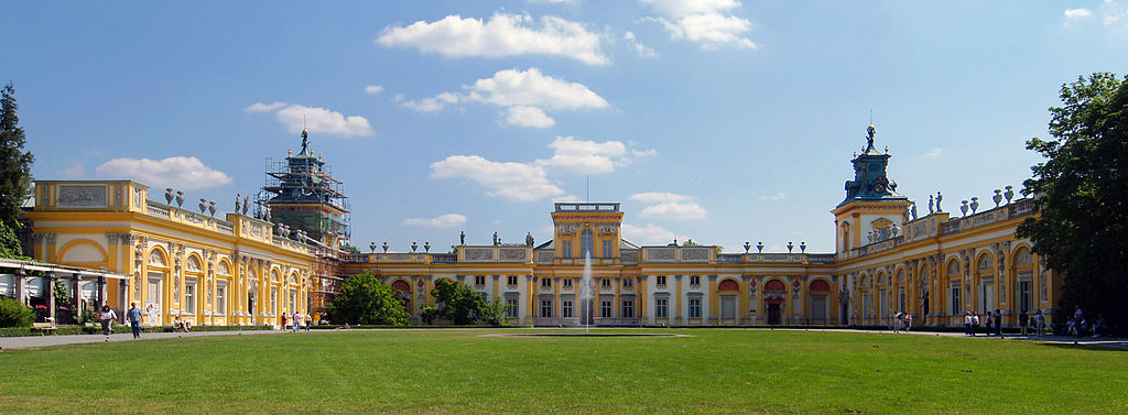 Warsaw Wilanow Palace 1