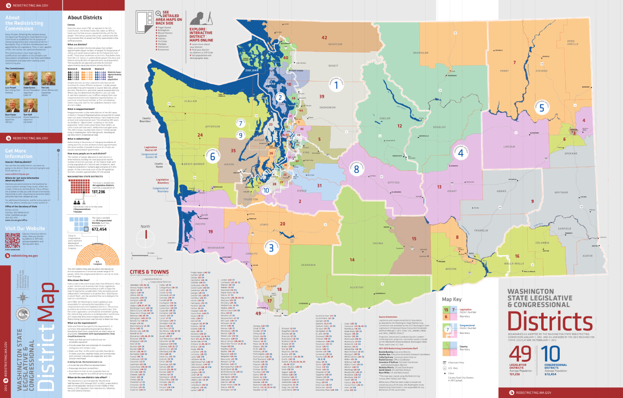 8th Congressional District Washington Map.Congressional District Map Washington State Bnhspine Com
