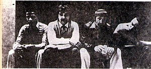 Weather Report - Weather Report in Argentina. L to R: Shorter, Erskine, Zawinul, and Pastorius