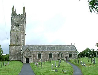 Week St Mary civil parish and village in northeast Cornwall, England