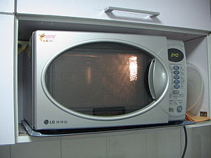 LG Corporation - An LG microwave oven