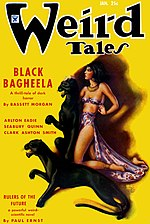 Weird Tales cover image for January 1935