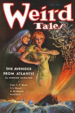 Weird Tales cover image for July 1935