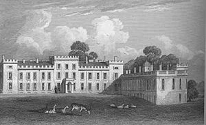 Welbeck Abbey - Welbeck Abbey in 1829