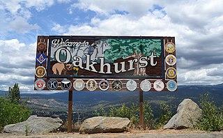 Oakhurst, California census-designated place in California, United States