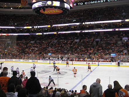 The Flyers play at the Wells Fargo Center WellsFargoCenterPhila 29.JPG