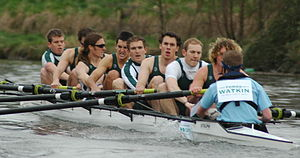 The Welsh Boat Race - Swansea University Men's Senior eight in 2006