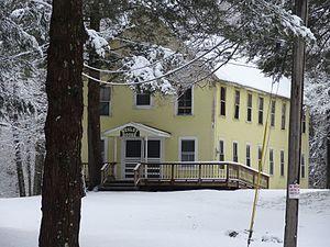 Asbury Grove - Wesley House, one of the original Asbury Grove dormitories