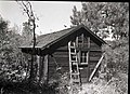West Rim shelter cabin, Building 135, West Rim Trail, seven miles from canyon floor. ; ZION Museum and Archives Image 008 01 067 (abb59f6d381641fb819b9611d62ecda8).jpg