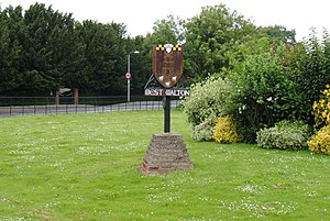 West Walton - Image: West Walton village sign