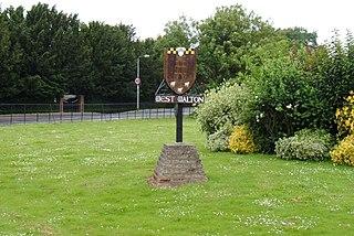 West Walton village in the United Kingdom