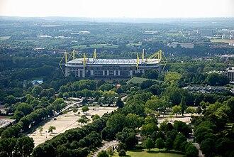2006 FIFA World Cup - Image: Westfalenpark 100818 16761 Westfalenstadion