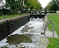 Weston Lock on the Trent and Mersey Canal, Derbyshire - geograph.org.uk - 1612454.jpg