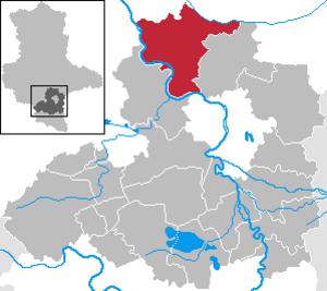 Wettin-Löbejün - Image: Wettin Löbejün in SK