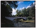 White Bridge, elevation view, looking SW. - White Bridge, Spanning Crum Elbow Creek, Hyde Park, Dutchess County, NY HAER NY-318-6 (CT).tif
