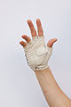 White leather fingerless cycling glove.jpg