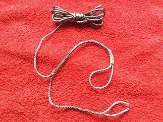 Whoopie sling - A whoopie sling for hammock camping