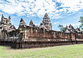 Wide Angle, the outer walls of Prasat Sadok Kok Thom in Thailand.jpg
