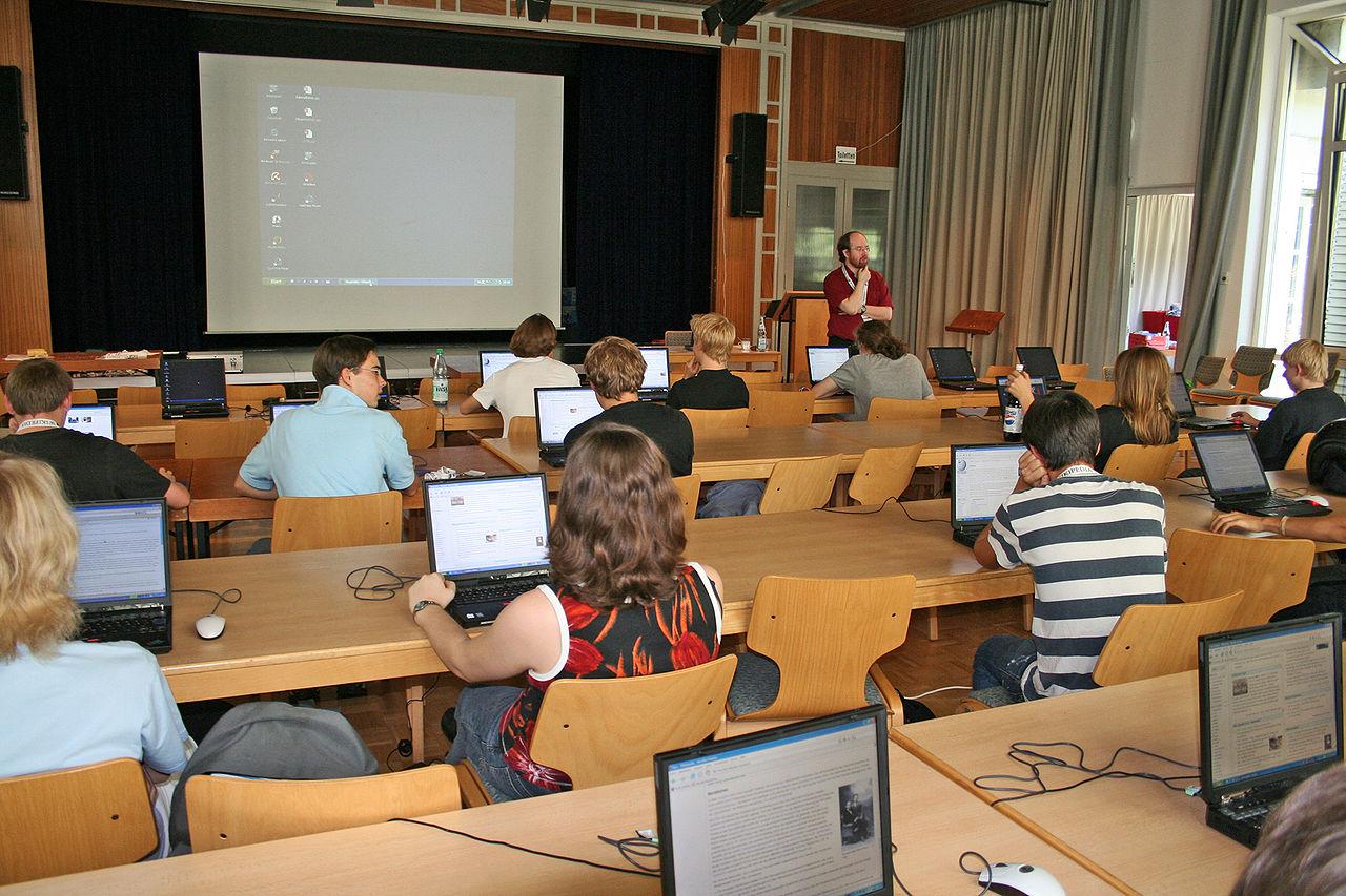 Wikipedia-Schulprojekt Andreanum - Schuelerworkshop 2.jpg