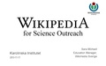 Wikipedia for Science Outreach at Karolinska Institutet.pdf