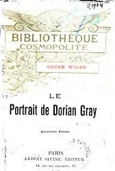 Oscar Wilde: Le Portrait de Dorian Gray (1895)